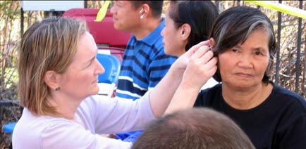 Acupuncturists Without Borders -  Hurricane Katrina Relief Effort