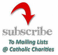 Mailing Lists @ Catholic Charities