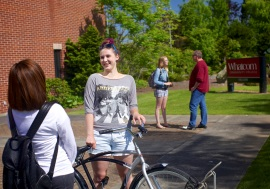 1 About the College_Students with bike